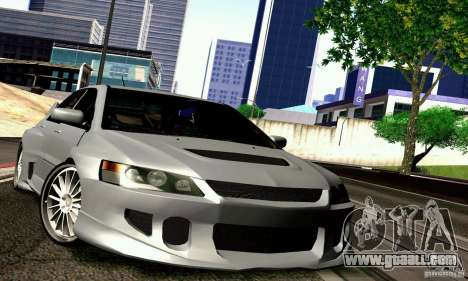 Mitsubishi Lancer Evo VII for GTA San Andreas
