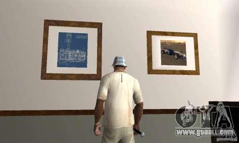 New Interiors - Mod for GTA San Andreas third screenshot