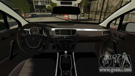 Peugeot 508 Presidentielle ELS for GTA 4 right view