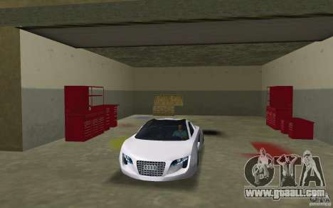 Audi RSQ concept for GTA Vice City back view