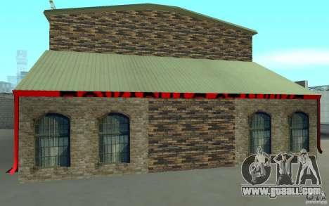 Russian fire station in San Fierro for GTA San Andreas second screenshot