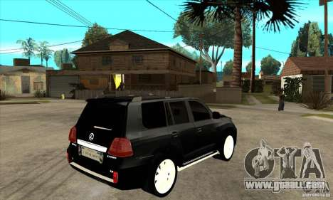 Lexus LX 570 2010 for GTA San Andreas right view