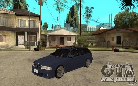 BMW M5 E39 530tdi Touring for GTA San Andreas