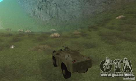 BRDM-1 Skin 3 for GTA San Andreas right view