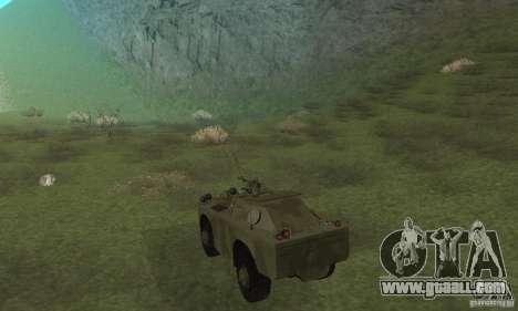 BRDM-1 Skin 3 for GTA San Andreas right view