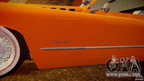 Buick Custom Copperhead 1950 for GTA 4 engine