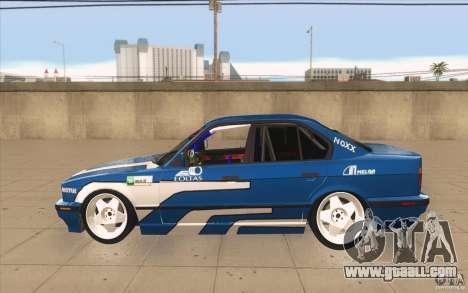 BMW E34 V8 for GTA San Andreas left view