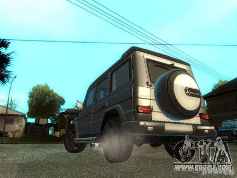 Mercedes-Benz G500 for GTA San Andreas right view