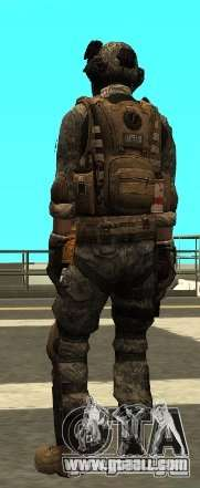 USA Army Special Forces (FIXED) for GTA San Andreas third screenshot