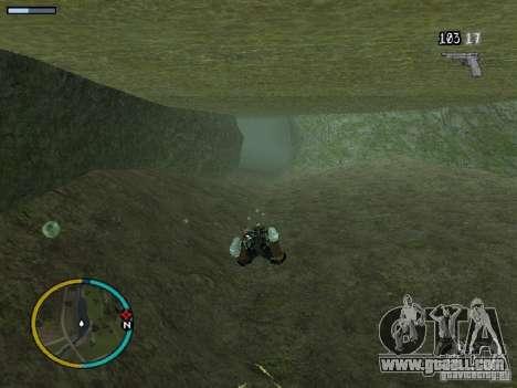 GTA IV HUD v2 by shama123 for GTA San Andreas seventh screenshot