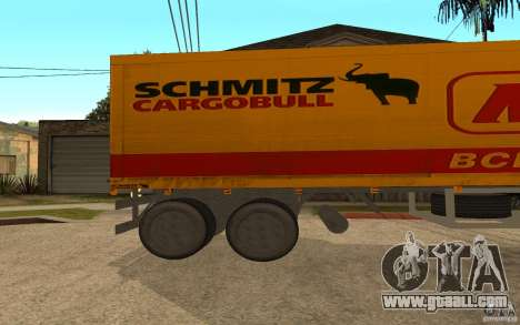 Trailer Magnet for GTA San Andreas left view