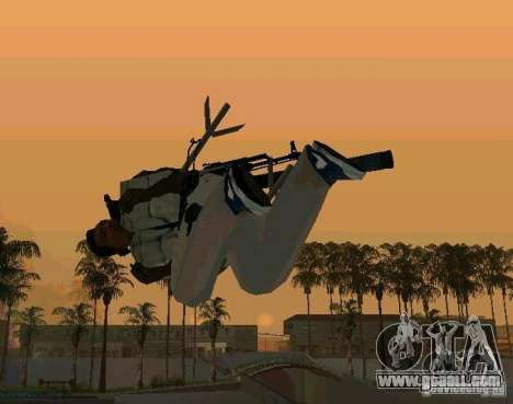 Recruitment animations from GTA IV for GTA San Andreas fifth screenshot