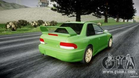 Subaru Impreza 22b 1998 (final) for GTA 4 side view