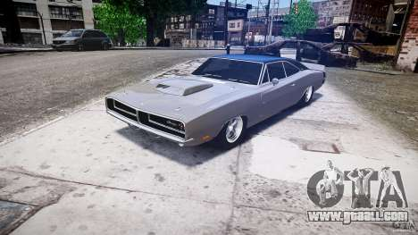 Dodge Charger RT 1969 tun v1.1 low ride for GTA 4