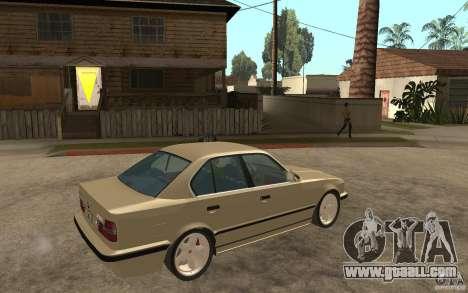 BMW 535i e34 AC Schnitzer for GTA San Andreas right view