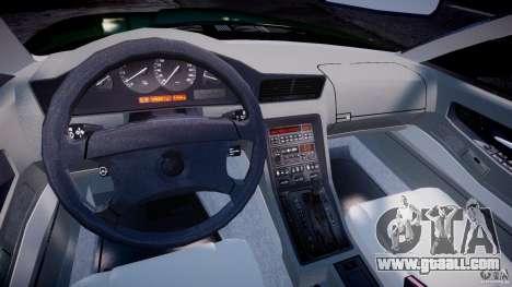 BMW 850i E31 1989-1994 for GTA 4 right view