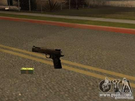 Pistol 9 mm for GTA San Andreas