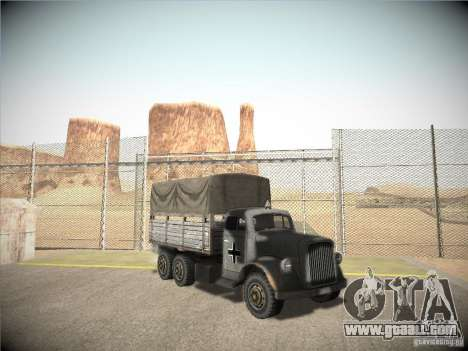 Mercedes-Benz Truck 1941 for GTA San Andreas