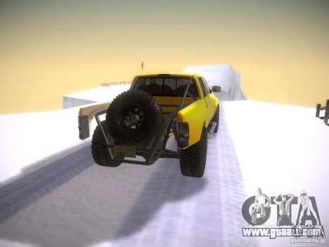 Dodge Ram Prerunner for GTA San Andreas back left view