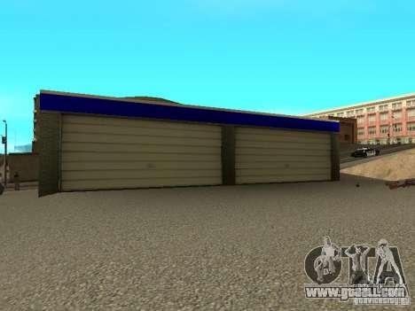 Garage in San Fierro for GTA San Andreas third screenshot