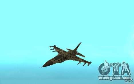 F16C Fighting Falcon for GTA San Andreas