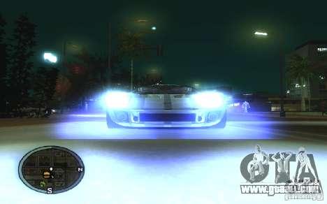 Xenon v4 for GTA San Andreas