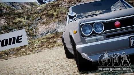 Nissan Skyline 2000 GT-R for GTA 4 engine