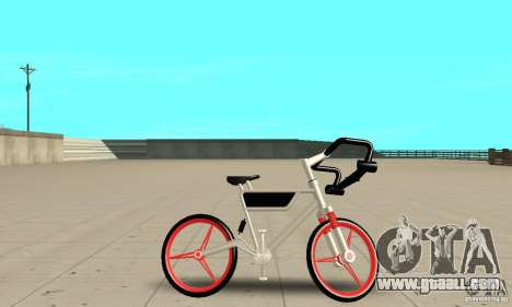 Wind Solar MT Bike for GTA San Andreas back left view