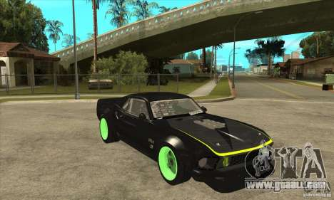 Ford Mustang RTR-X 1969 for GTA San Andreas side view
