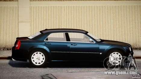 Chrysler 300C SRT8 for GTA 4 inner view