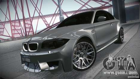 BMW 1M E82 Coupe 2011 V1.0 for GTA San Andreas