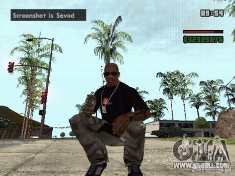 Grenade Launcher for GTA San Andreas second screenshot