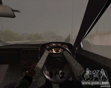 Mazda Savanna RX-7 FC3S for GTA San Andreas inner view