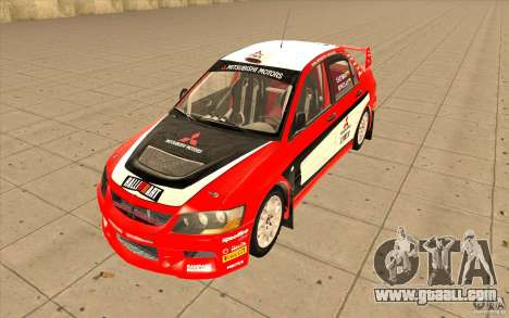 Mitsubishi Lancer Evo IX DiRT2 for GTA San Andreas