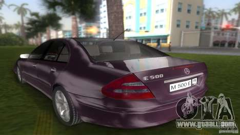Mercedes E-class E500 for GTA Vice City left view