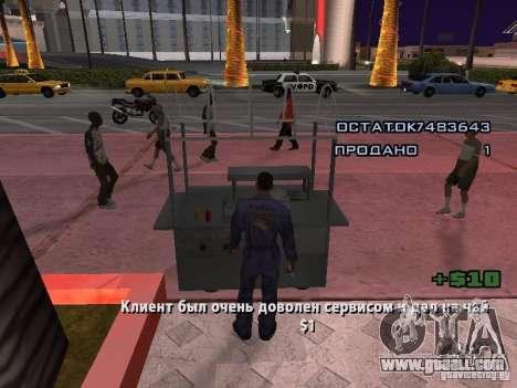 Hot Dog Seller for GTA San Andreas forth screenshot