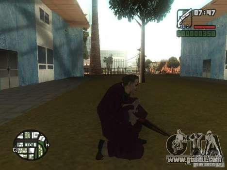 HQ Joker Skin for GTA San Andreas seventh screenshot