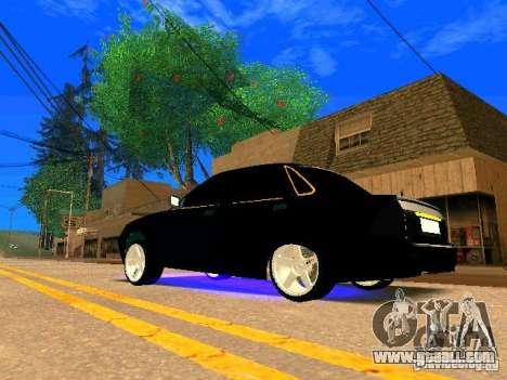 LADA 2170 Priora Gold Edition for GTA San Andreas right view