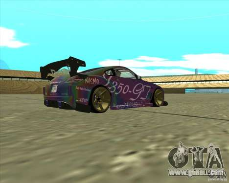 Nissan 350Z Fairlady for GTA San Andreas right view
