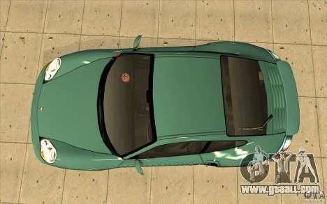 Porsche 911 Turbo for GTA San Andreas right view