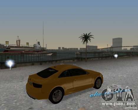 Audi S5 for GTA Vice City right view