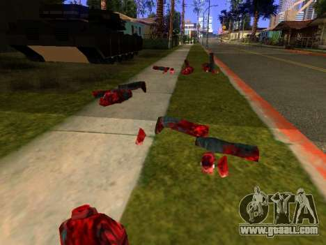 Chainsaw Massacre v. 2.0 for GTA San Andreas forth screenshot