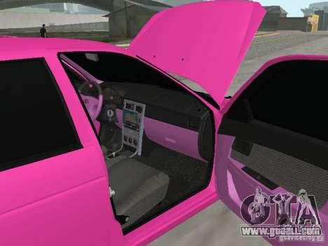 Lada Priora Emo for GTA San Andreas side view