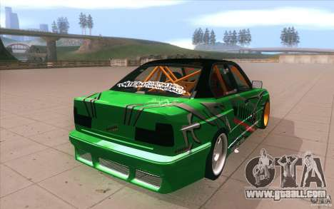 BMW E34 V8 Wide Body for GTA San Andreas side view