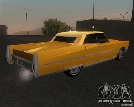 Cadillac Fleetwood Sixty Special 1967 for GTA San Andreas left view