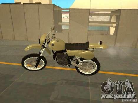 Motorcycle Čezet for GTA San Andreas