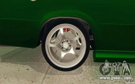 Vaz-2101 Lada Sport for GTA San Andreas engine