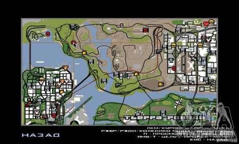 Area in the desert for GTA San Andreas fifth screenshot