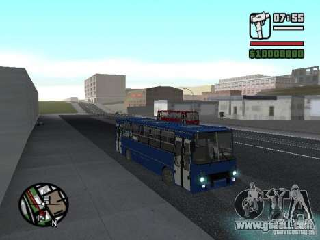Ikarus 260.51 for GTA San Andreas back left view