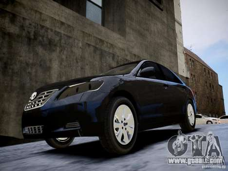 Toyota Camry for GTA 4 right view
